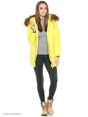 Куртка Snow Guard. Цвет: желтый
