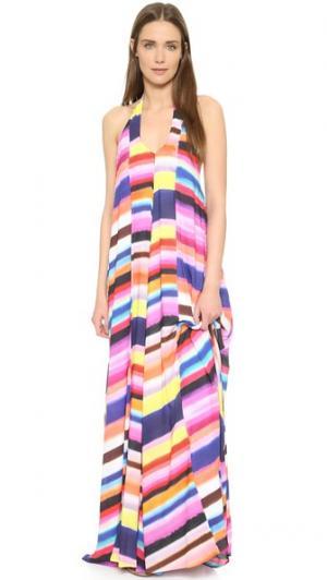 Макси-платье Mara Hoffman. Цвет: розовый