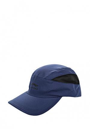 Бейсболка Li-Ning. Цвет: синий