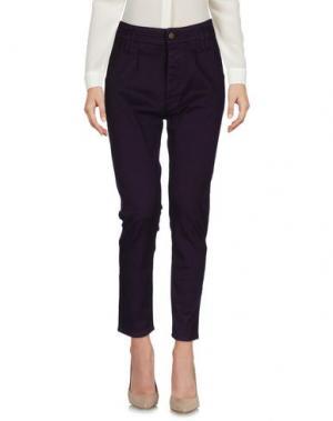 Повседневные брюки CYCLE. Цвет: фиолетовый
