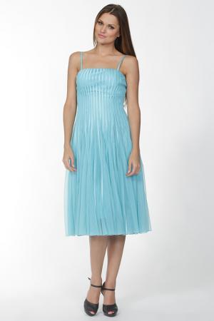 Платье Manys Tune. Цвет: голубой
