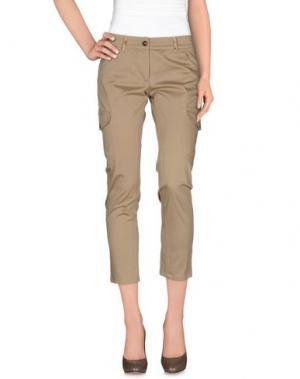 Повседневные брюки ALVIERO MARTINI 1a CLASSE. Цвет: светло-коричневый