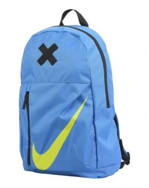 Рюкзаки и сумки на пояс NIKE. Цвет: лазурный