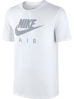 Футболка M NSW TEE TB AIR HD LOGO Nike. Цвет: белый