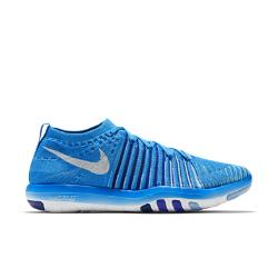 Женские кроссовки для тренинга  Free Transform Flyknit Nike. Цвет: синий