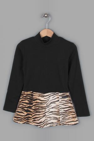 Платье Banino. Цвет: коричневый