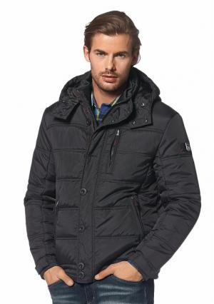 Куртка Rhode Island. Цвет: черный