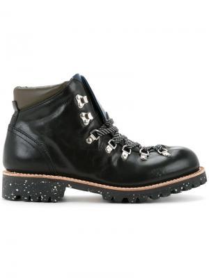 Ботинки в походном стиле Undercover. Цвет: чёрный