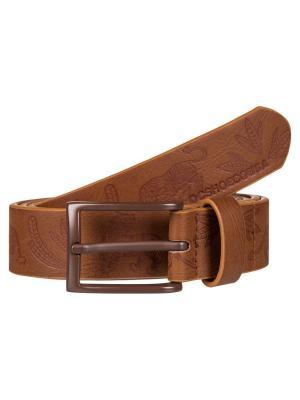 Ремень DC Shoes. Цвет: серо-коричневый, темно-коричневый