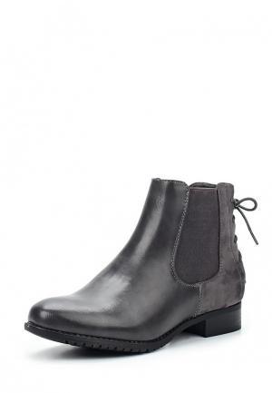 Ботинки Anesia. Цвет: серый