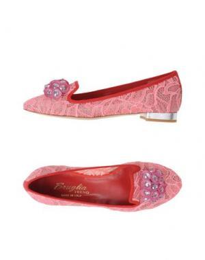 Балетки F.LLI BRUGLIA. Цвет: розовый