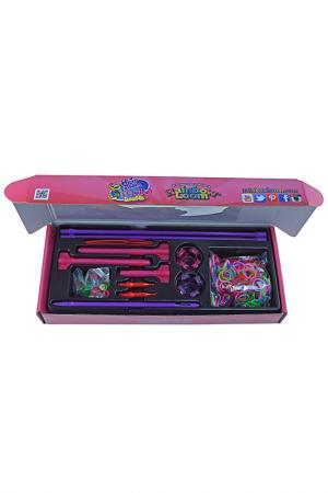Набор для плетения украшений RAINBOW LOOM. Цвет: розовый, синий