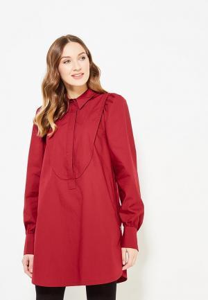 Блуза Parole by Victoria Andreyanova. Цвет: бордовый