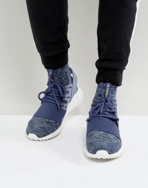 Adidas Originals Фиолетовые кроссовки Tubular Doom PK BB2393. Цвет: фиолетовый