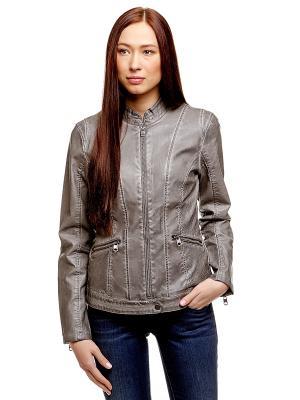 Куртка TOM TAILOR. Цвет: серый