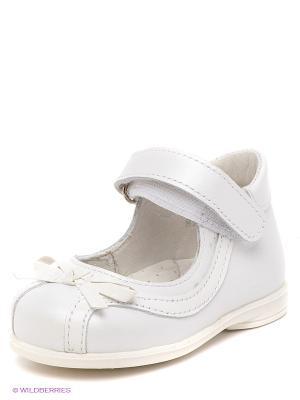 Туфли Детский скороход. Цвет: белый