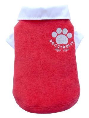 Свитер Doggy Dolly. Цвет: красный
