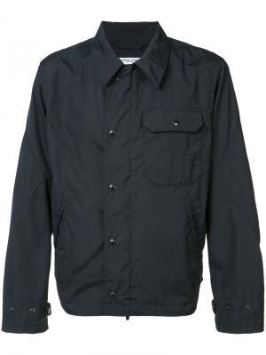 Куртка с нагрудным карманом Engineered Garments. Цвет: синий