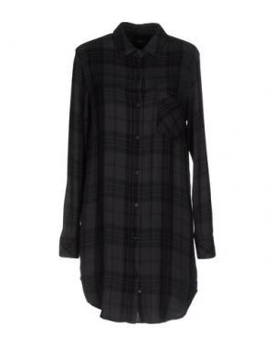 Короткое платье RAILS. Цвет: черный