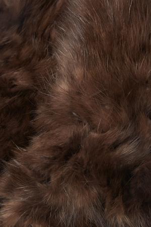 Варежки из меха соболя DREAMFUR. Цвет: коричневый