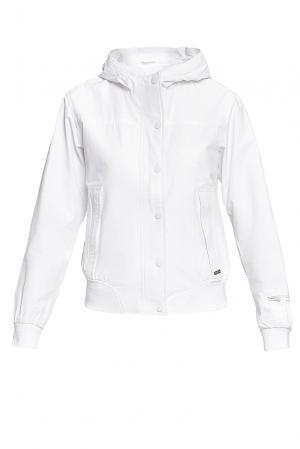 Куртка из хлопка BE-187326 Censured. Цвет: белый