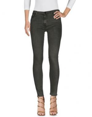 Джинсовые брюки BLACK ORCHID. Цвет: зеленый-милитари