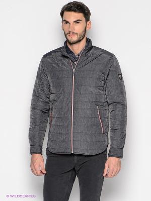 Куртка GroStyle. Цвет: темно-серый