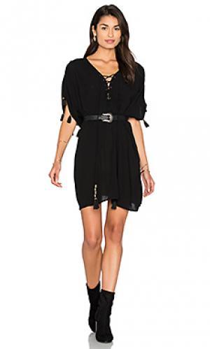 Короткое платье airie Cleobella. Цвет: черный