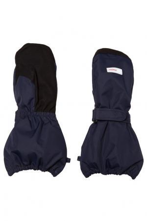 Зимние перчатки с пряжкой Reima. Цвет: синий
