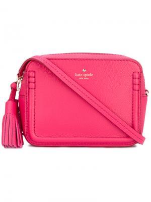 Tassel detail crossbody bag Kate Spade. Цвет: розовый и фиолетовый