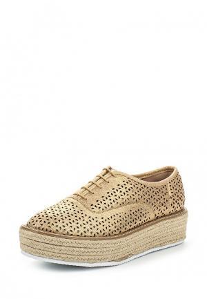 Ботинки Corina. Цвет: золотой