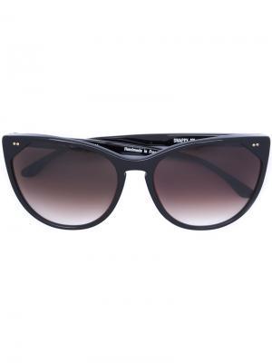 Объемные солнцезащитные очки Thierry Lasry. Цвет: чёрный