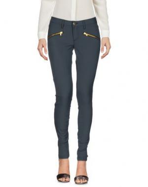 Повседневные брюки MET & FRIENDS. Цвет: цвет морской волны