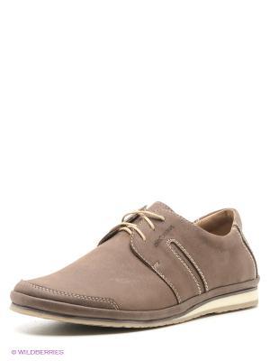 Туфли Goergo. Цвет: коричневый