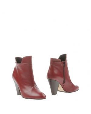 Полусапоги и высокие ботинки MEGUMI OCHI. Цвет: пурпурный