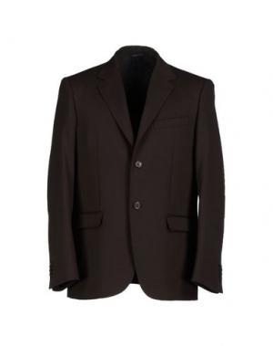 Пиджак MM by MARIOMATTEO. Цвет: темно-коричневый