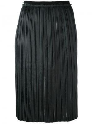 Pleated skirt Aviù. Цвет: чёрный