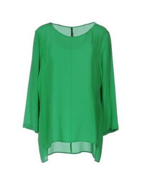 Блузка LIVIANA CONTI. Цвет: зеленый