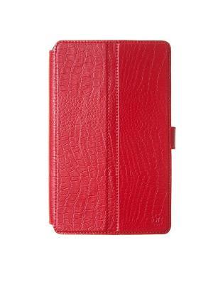 Чехол-книжка Norton ультратонкий 8 крепление резинки Norton.. Цвет: красный