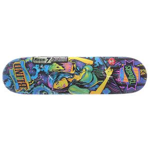 Дека для скейтборда  S5 Romar Ultra Violet R7 Multicolor 31.125 x 7.75 (19.7 см) Blind. Цвет: мультиколор