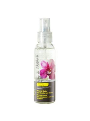 Natural Минеральный Био-дезодорант для тела Орхидея, 100 мл. Markell. Цвет: прозрачный