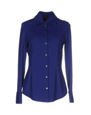Pубашка FISICO-CRISTINA FERRARI. Цвет: темно-синий