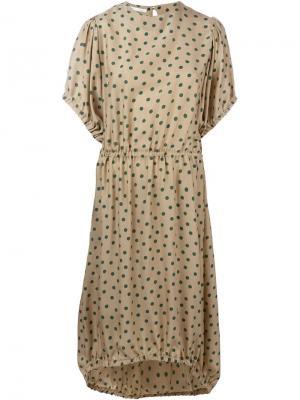 Платье Udon Société Anonyme. Цвет: телесный