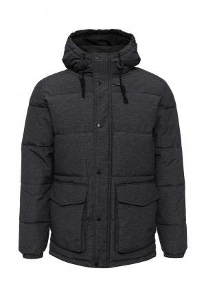 Куртка утепленная Selected Homme. Цвет: серый