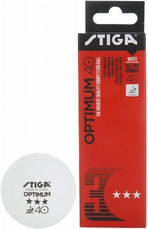 Мячи для настольного тенниса  Optimum, 3 шт. Stiga