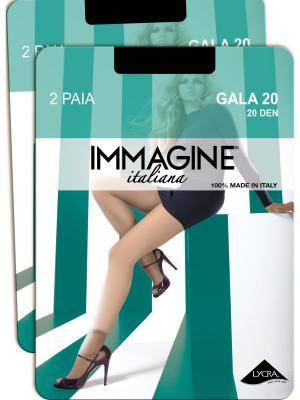 Носки, 4 пары Immagine. Цвет: черный