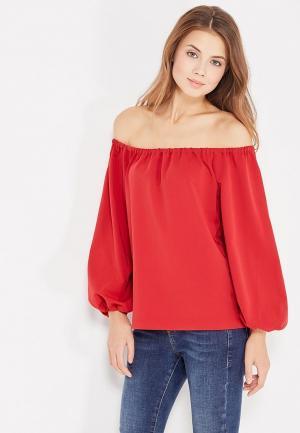 Блуза Self Made. Цвет: красный