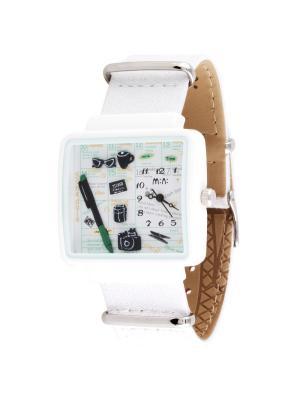 Наручные часы MN937white Mini.. Цвет: белый