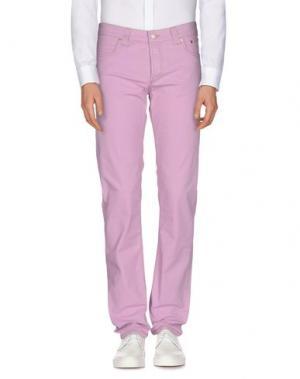 Повседневные брюки JECKERSON. Цвет: розовый