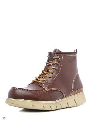 Ботинки Tommy Hilfiger. Цвет: бордовый